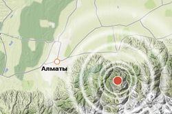 Вчера в Алматы ощущались подземные толчки силой 2−3 балла— МЧС РК